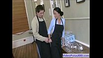 Stupid Maid Whore fucked by Boss xxx