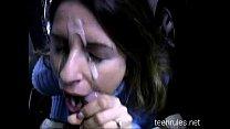 Парень много спермы трахает женщину видео