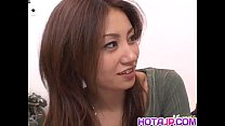 XVIDEO Nana Nanami gets cocks in mouth and hairy cunt and cum after