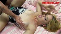 Amadora loirinha fazendo filme de sexo com amigo