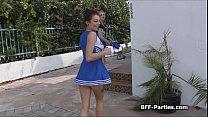 cheerleader blowjob videos
