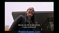 PublicAgent Pretty brunette gets fucked in the middle of nowhere - 9Club.Top