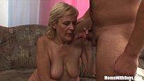 Очень сексуальные зрелые бабы с юнцами