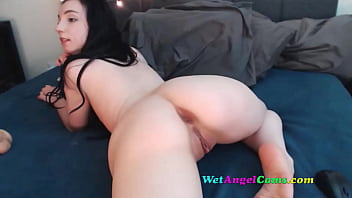 Pounding my own ass with dildo