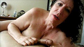 Grannies sucking sons dick