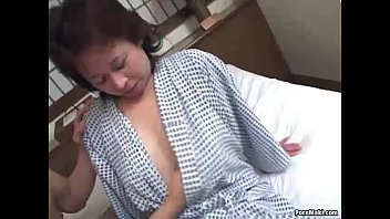 asian granny masturbate - Asian granny enjoys threesome fucking