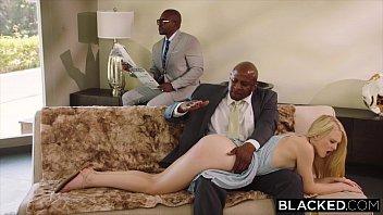Submissive black man