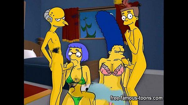 Image Simpsons hentai hard orgy