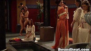 Sexy Roman Lesbian Spa