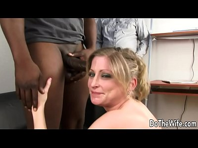 Lya Pink interracial and facial in front of hus...