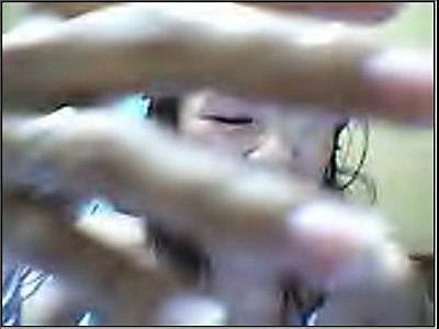 Filipina show off on cam.