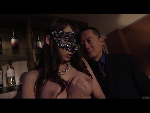 Subtitled Japanese Kurea Hasumi Wife Slave Auction Stripping