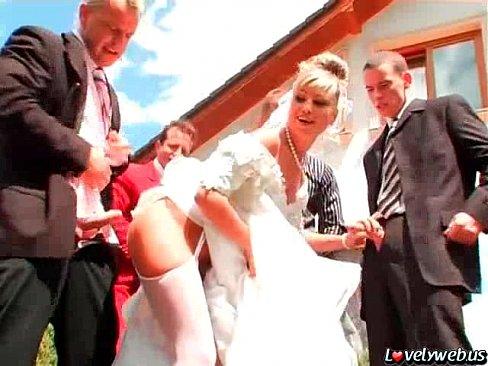 Gangbang bride videos