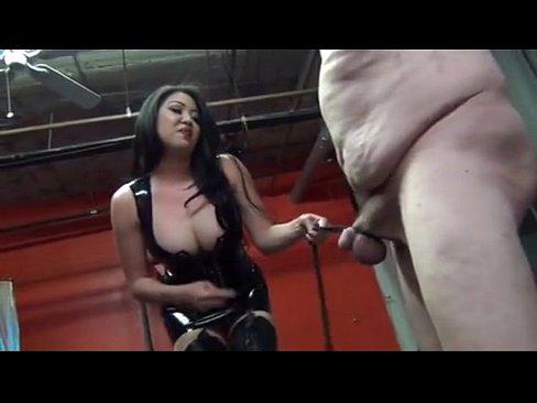 Japanese femdom cbt