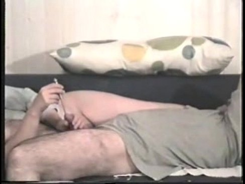 Hand job with urethra probe