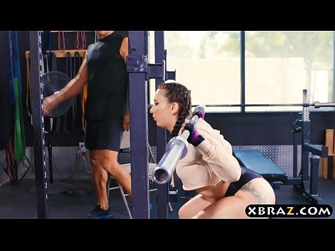 Gym ass fuck