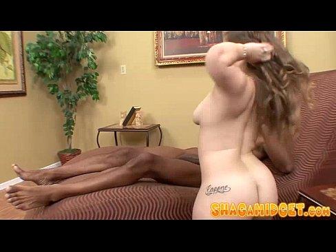 Cock sucking midget whore