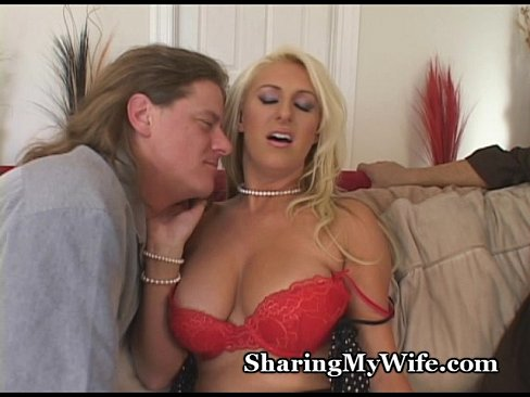 Busty sharing videos